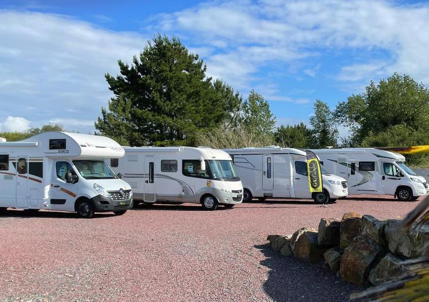 GL Camper à Pirou Plage dans la Manche Normandie